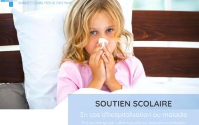 Soutien scolaire : hospitalisation ou maladie
